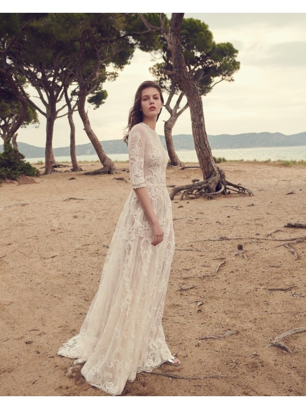 BR20 50 - abito da sposa collezione 2020 - Christos Costarellos