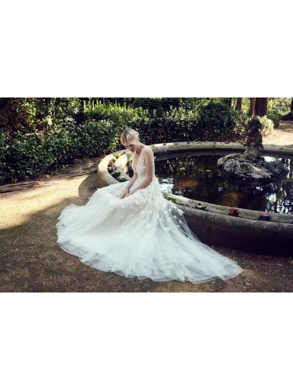 BR19-09 - abito da sposa collezione 2020 - Christos Costarellos