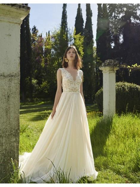 BR19 52 - abito da sposa collezione 2020 - Christos Costarellos