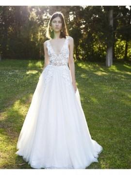 BR19 51 - abito da sposa collezione 2020 - Christos Costarellos