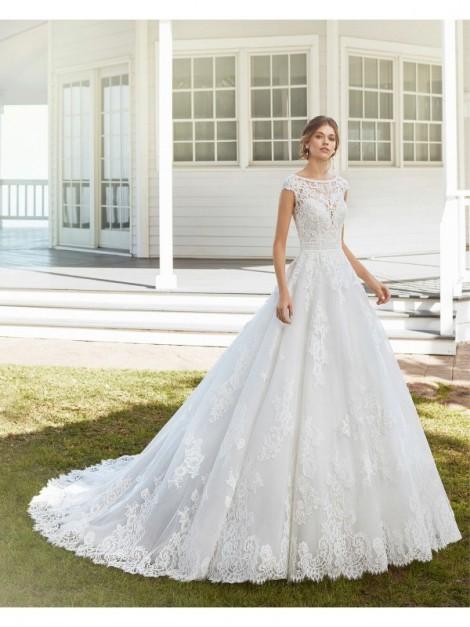 Vestiti Da Sposa Milano.Clara Abito Da Sposa Modello Clara Rosa Clara Collezione 2020