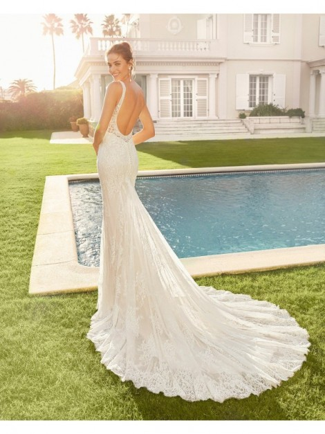 CHARLIZE - abito da sposa collezione 2020 - Rosa Clarà