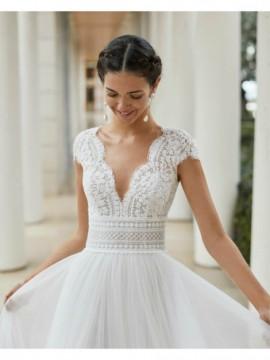 SAUCA - abito da sposa collezione 2020 - Rosa Clarà Couture
