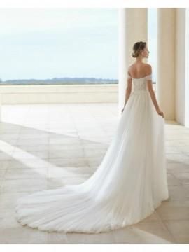 SANTELLA - abito da sposa collezione 2020 - Rosa Clarà Couture
