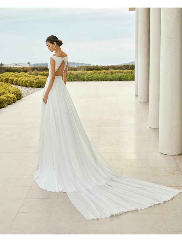 Vestiti Da Sposa Modelli.Salva Abito Da Sposa Modello Salva Rosa Clara Couture Collezione