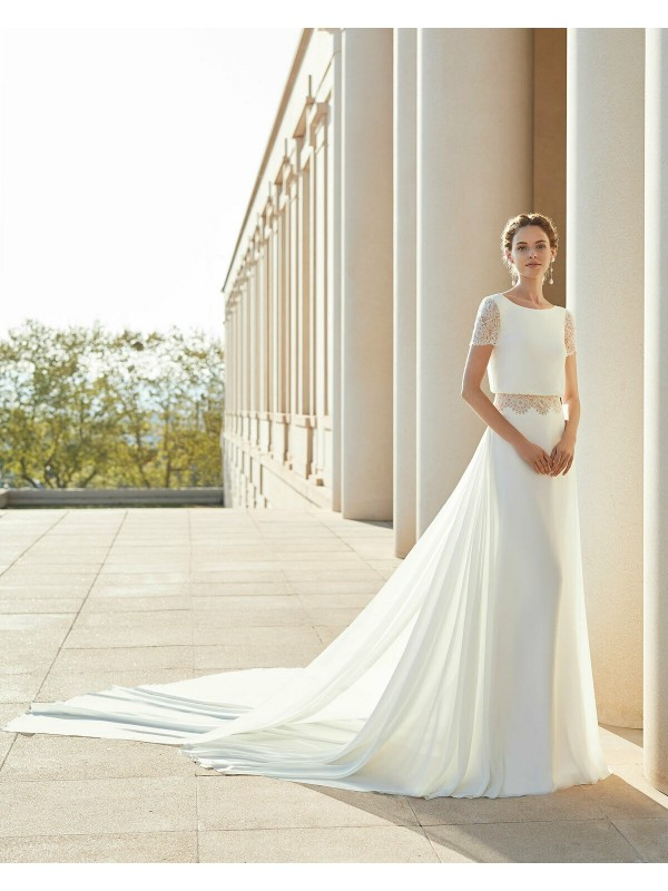 SALITRE - abito da sposa collezione 2020 - Rosa Clarà Couture