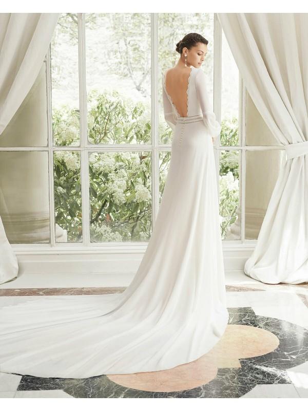 MANILA - abito da sposa collezione 2020 - Rosa Clarà Couture
