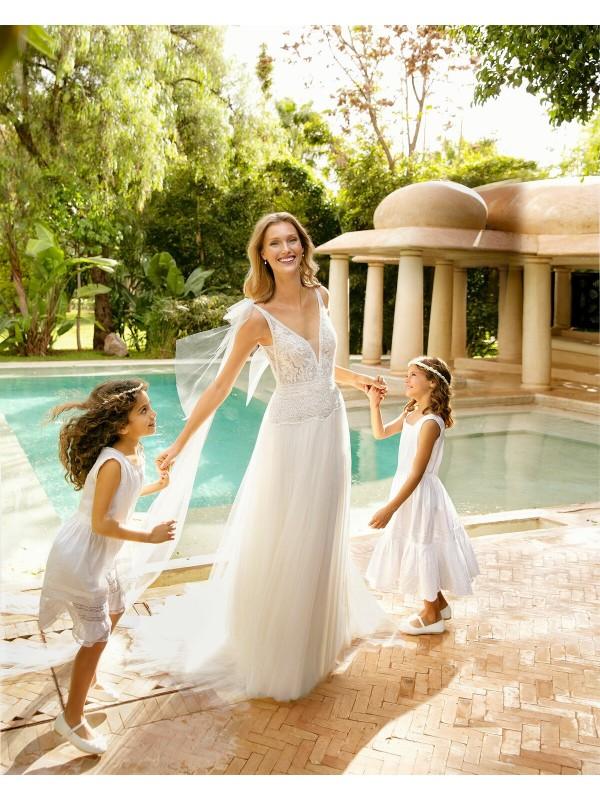 ROMBO - abito da sposa collezione 2020 - Rosa Clarà Soft