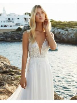 QUENTIN - abito da sposa collezione 2020 - Aire Barcelona - Atelier - Beach