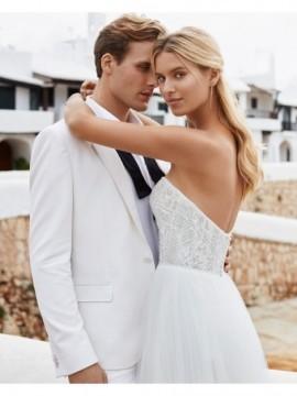 QUEMIS - abito da sposa collezione 2020 - Aire Barcelona - Atelier - Beach