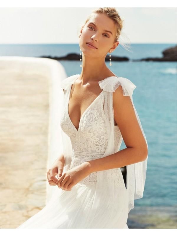 QUEILA - abito da sposa collezione 2020 - AIRE BEACH WEDDING