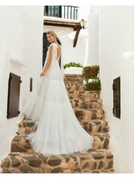 QUEBEC - abito da sposa collezione 2020 - Aire Barcelona - Atelier - Beach