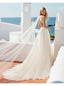QUARK - abito da sposa collezione 2020 - Aire Barcelona - Atelier - Beach