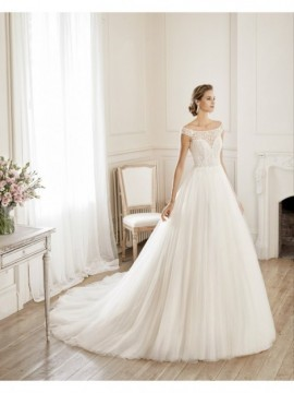 NUBE - abito da sposa collezione 2020 - Aire Barcelona - Atelier - Beach