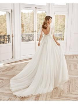 NORDICO - abito da sposa collezione 2020 - Aire Barcelona - Atelier - Beach