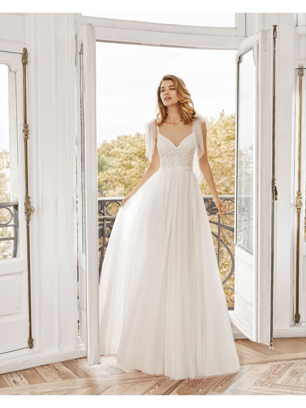 NORDICO - abito da sposa collezione 2020 - AIRE BARCELONA