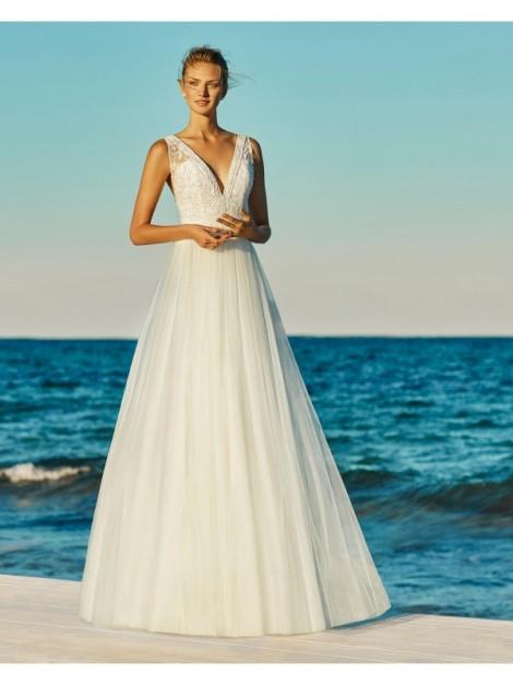 GEORGINA - abito da sposa collezione 2020 - AIRE BEACH WEDDING