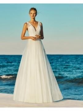 GEORGINA - abito da sposa collezione 2020 - Aire Barcelona - Atelier - Beach