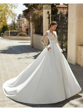 ANDREA - abito da sposa collezione 2020 - Aire Barcelona - Atelier - Beach