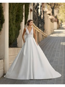 ALMA - abito da sposa collezione 2020 - Aire Barcelona - Atelier - Beach