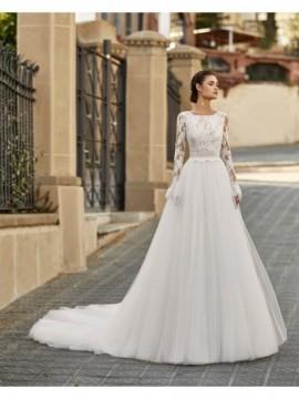 AINARA - abito da sposa collezione 2020 - Aire Barcelona - Atelier - Beach