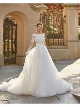 ABIGAIL - abito da sposa collezione 2020 - Aire Barcelona - Atelier - Beach