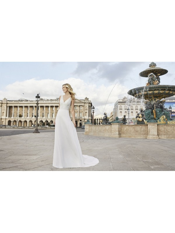 ELDER - abito da sposa collezione 2020 - AIRE BARCELONA