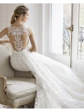 ESTELLA - abito da sposa collezione 2020 - Aire Barcelona - Atelier - Beach