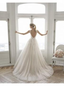 EYLEM - abito da sposa collezione 2020 - Aire Barcelona - Atelier - Beach