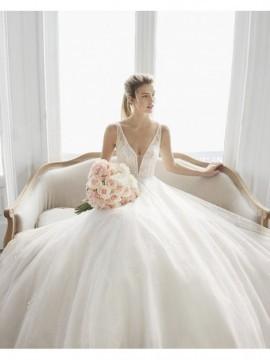 ESTELAR - abito da sposa collezione 2020 - Aire Barcelona - Atelier - Beach
