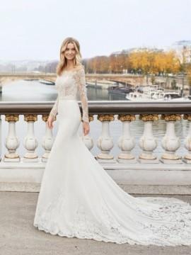 EDDIE - abito da sposa collezione 2020 - Aire Barcelona - Atelier - Beach