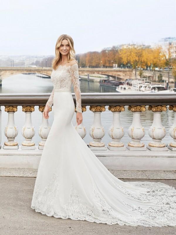EDDIE - abito da sposa collezione 2020 - AIRE BARCELONA