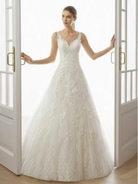 EROL  - abito da sposa collezione 2020 - Aire Barcelona - Atelier - Beach