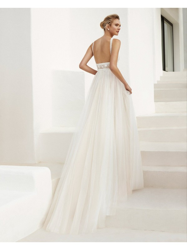 EVANS - abito da sposa collezione 2020 - AIRE BARCELONA