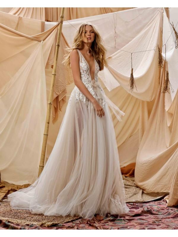 abito da sposa Gisele - collezione 2021 - MUSE by BERTAabito da sposa Gisele