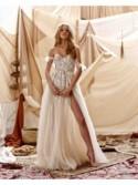 abito da sposa Gloria - collezione 2021 - MUSE by BERTAabito da sposa Gloria