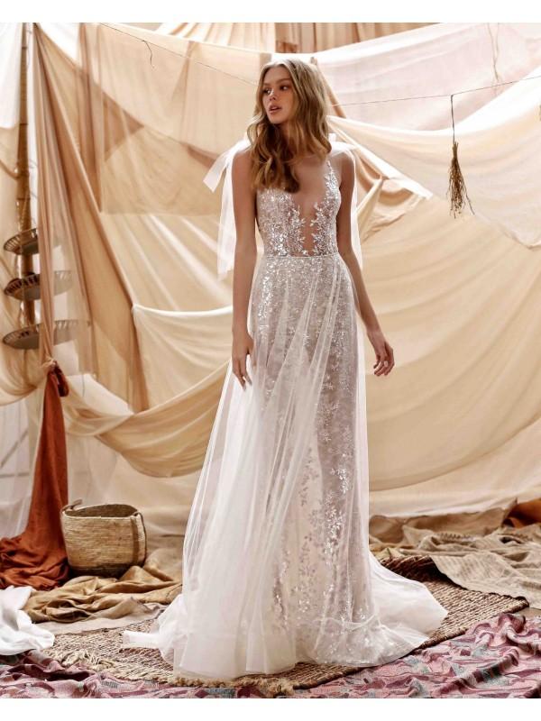 abito da sposa Grace - collezione 2021 - MUSE by BERTAabito da sposa Grace