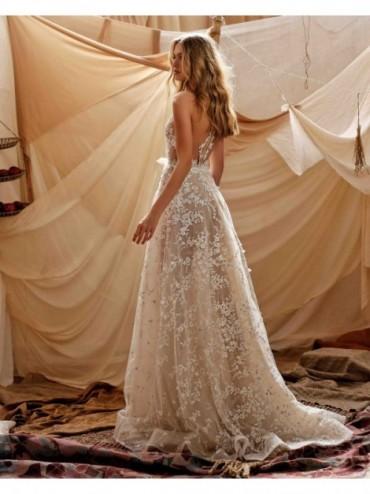 abito da sposa Gaia - collezione 2021 - MUSE by BERTAabito da sposa Gaia
