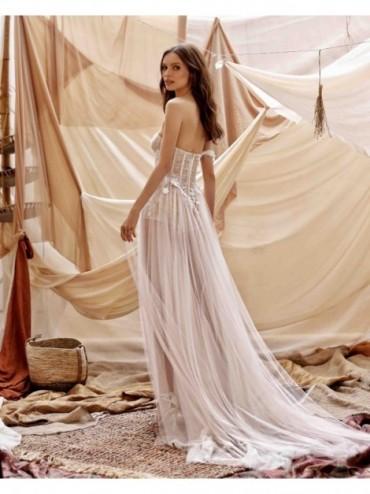 abito da sposa Gina - collezione 2021 - MUSE by BERTAabito da sposa Gina