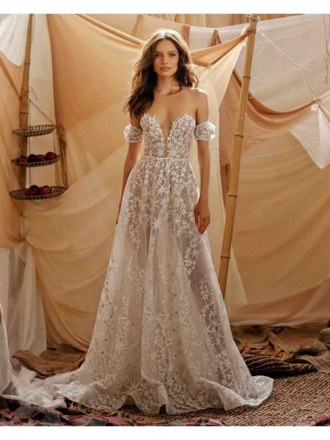 abito da sposa Gaby - collezione 2021 - MUSE by BERTAabito da sposa Gaby