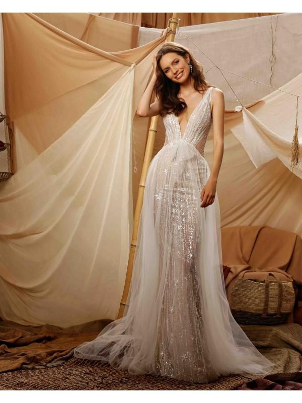 abito da sposa Gali - collezione 2021 - MUSE by BERTAabito da sposa Gali