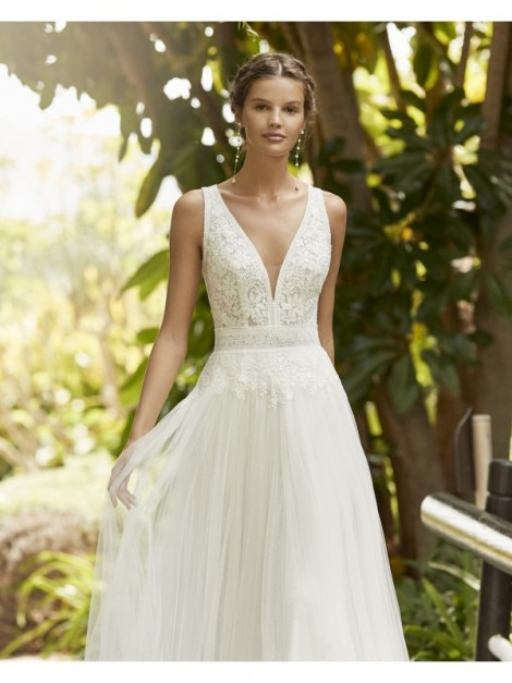 Zelco - abito da sposa collezione 2021 - Adriana Alier