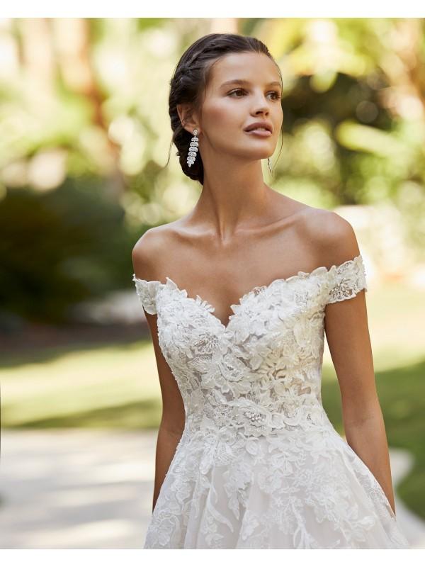 Zinna - abito da sposa collezione 2021 - Adriana Alier