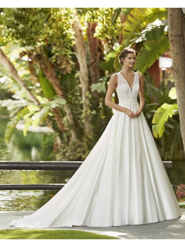 Zunilda - abito da sposa collezione 2021 - Adriana Alier