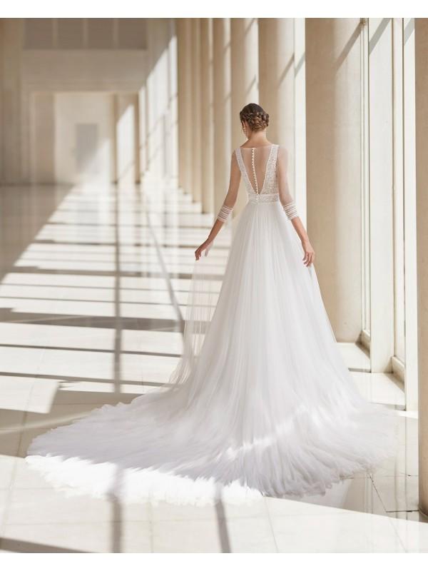 Ural - abito da sposa collezione 2021 - Aire Atelier