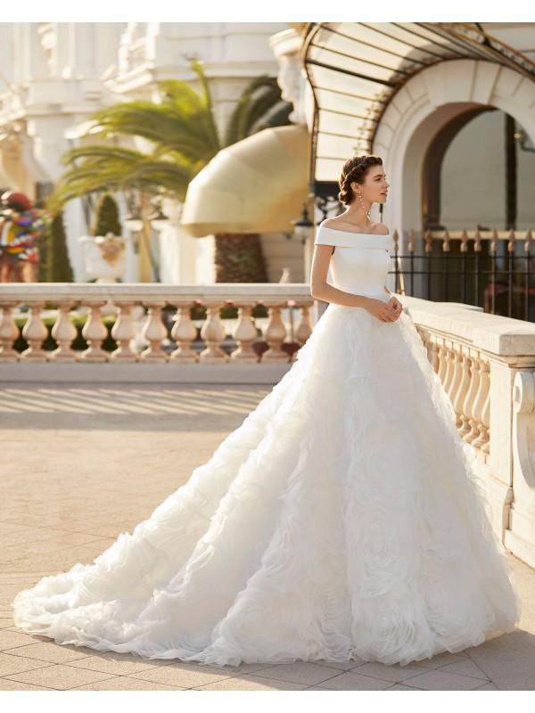 Indra - abito da sposa collezione 2021 - Aire Barcelona