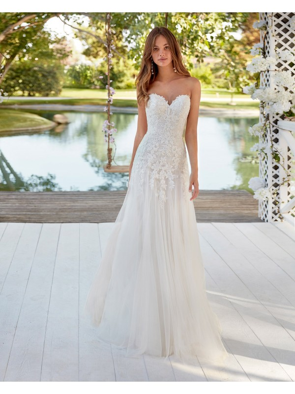 Cless - abito da sposa collezione 2021 - Aire Royale