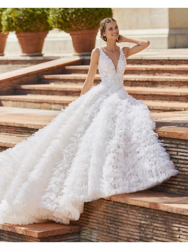 Gaux - abito da sposa collezione 2021 - Martha Blanc