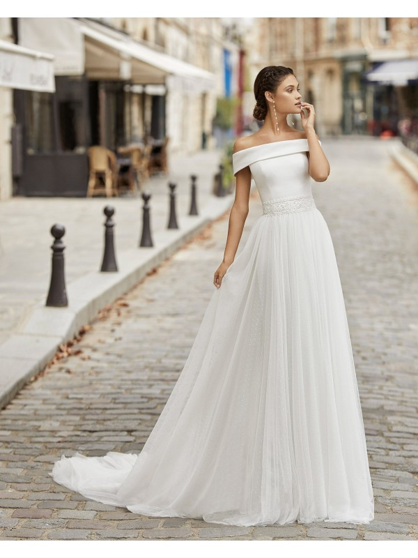 Theon - abito da sposa collezione 2021 - Rosa Clarà