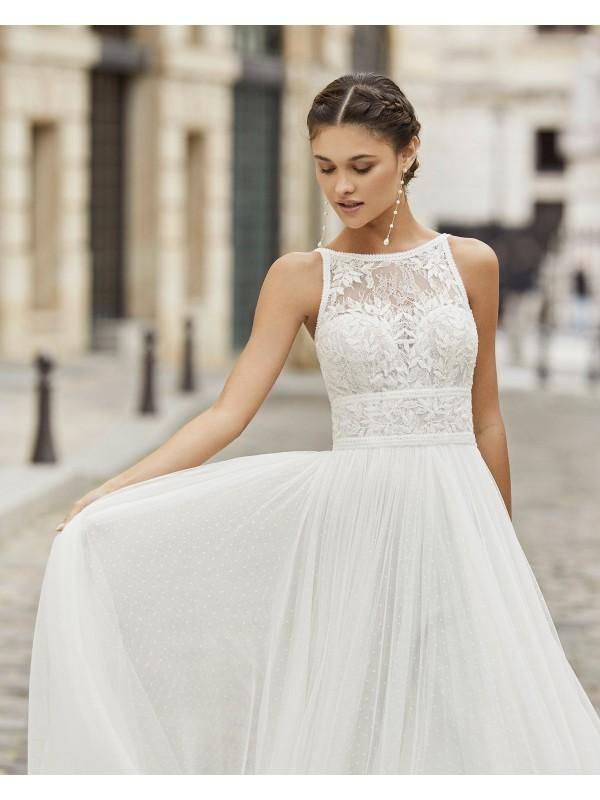 Tina - abito da sposa collezione 2021 - Rosa Clarà